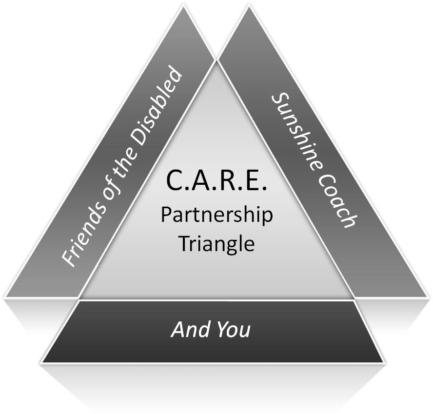 C.A.R.E. Partnership Triangle Image